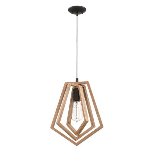 Gem Espresso 10-Inch One-Light Mini Pendant