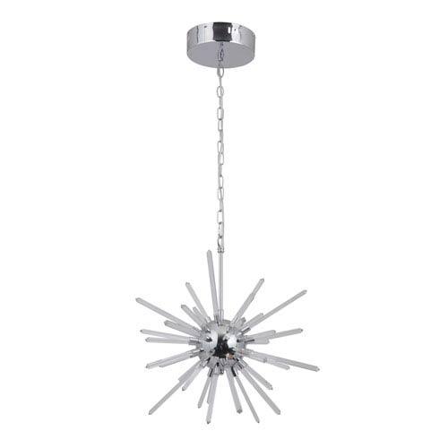 Nebula Chrome 13-Inch LED Pendant