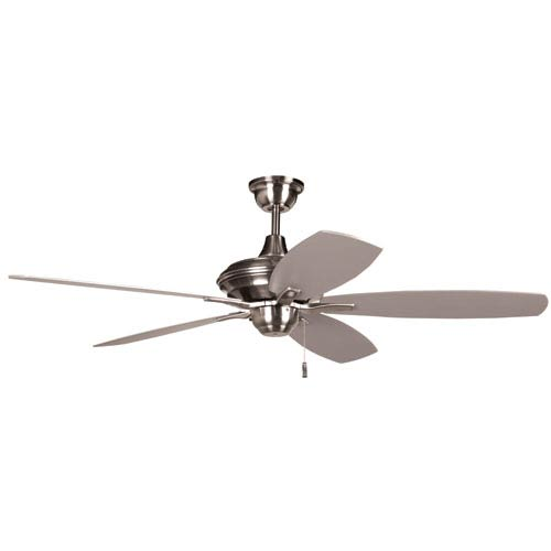 Copeland Stainless Steel 52-Inch Ceiling Fan with LED Light Kit