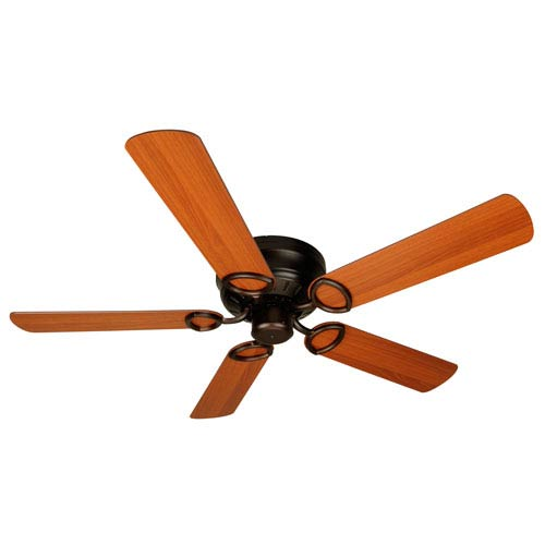 Craftmade Universal Hugger Oiled Bronze Ceiling Fan with 52-Inch Plus Series Cherry Blades