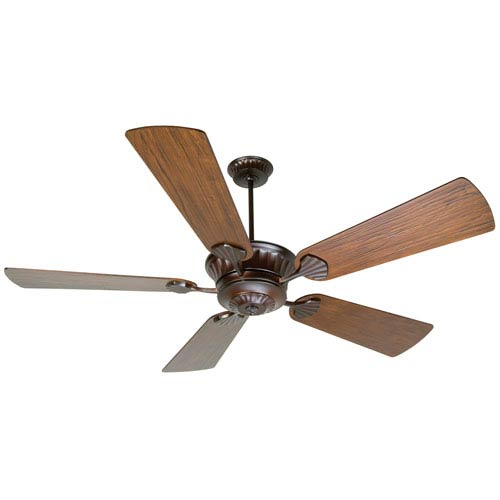 Craftmade DC Epic Oiled Bronze Ceiling Fan with 70-Inch Premier Hand-Scraped Walnut Blades