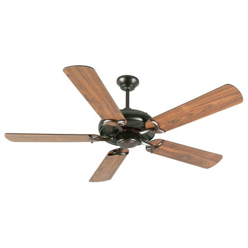 Craftmade Civic Oiled Bronze Ceiling Fan with 52-Inch Plus Series Walnut Blades