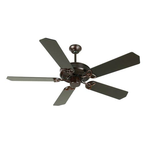 Craftmade CXL Oiled Bronze Ceiling Fan with 52-Inch Standard Oiled Bronze Blades