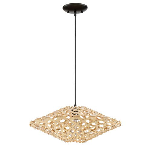 Espresso 18-Inch One-Light Pendant