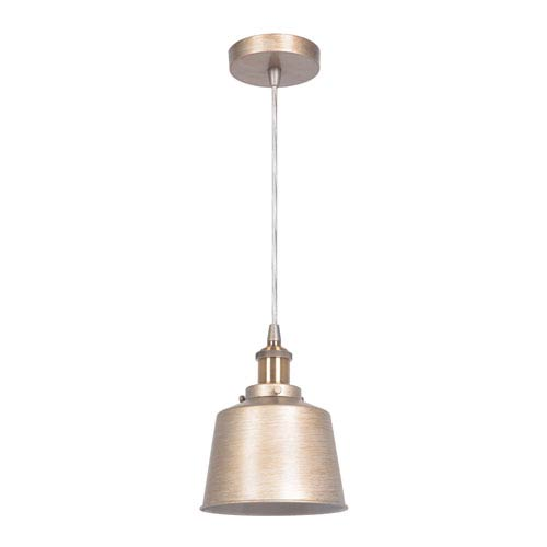Craftmade Gold Twilight and Patina Aged Brass 7-Inch One-Light Mini Pendant
