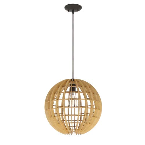 Espresso 16-Inch One-Light Pendant