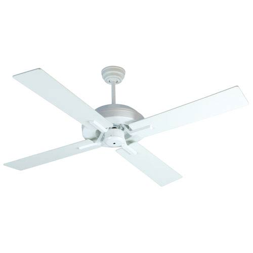 Craftmade South Beach White Outdoor LED Ceiling Fan