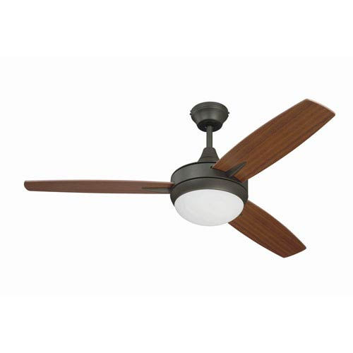 Targas Espresso 48-Inch LED Ceiling Fan with Three Blades