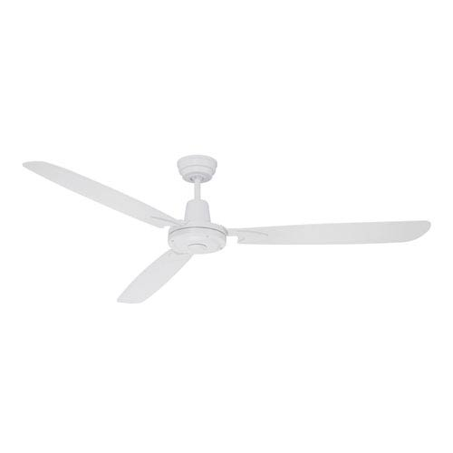 Craftmade Velocity White 58-Inch Ceiling Fan with Three Blades