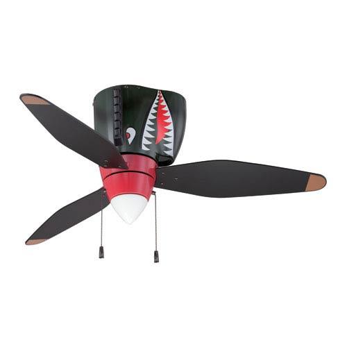 Tiger Shark WarPlane Ceiling Fan