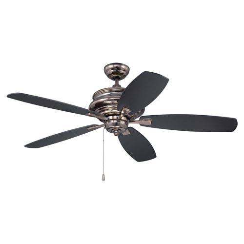 Yorktown Legacy Brass Fifty-Two-Inch Ceiling Fan
