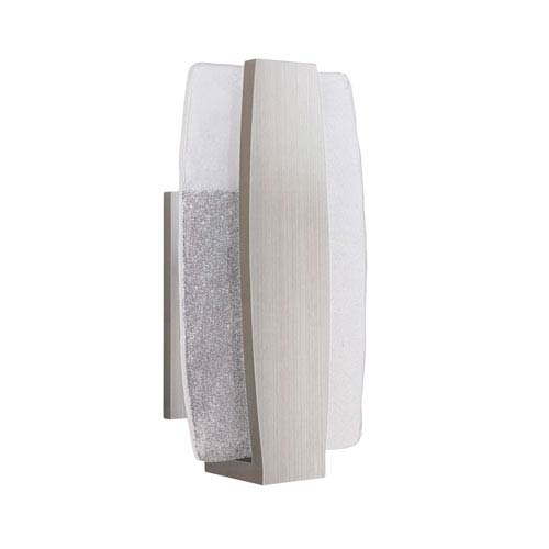 Craftmade Duo Stainless Steel 8-Inch Outdoor LED Pocket Sconce