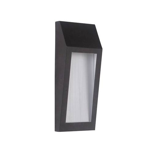 Wedge Oiled Bronze 5-Inch Outdoor LED Pocket Sconce