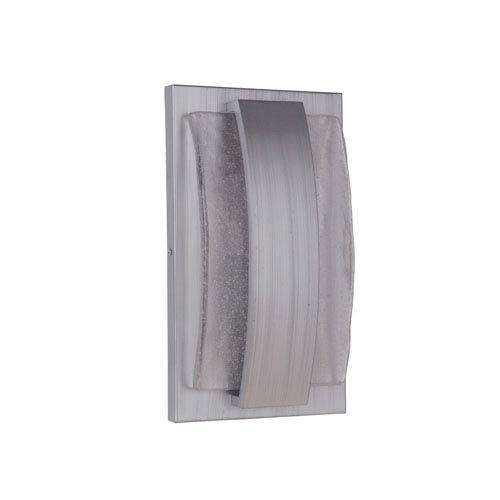 Craftmade Lynk Brushed Aluminum 8-Inch Outdoor LED Pocket Sconce