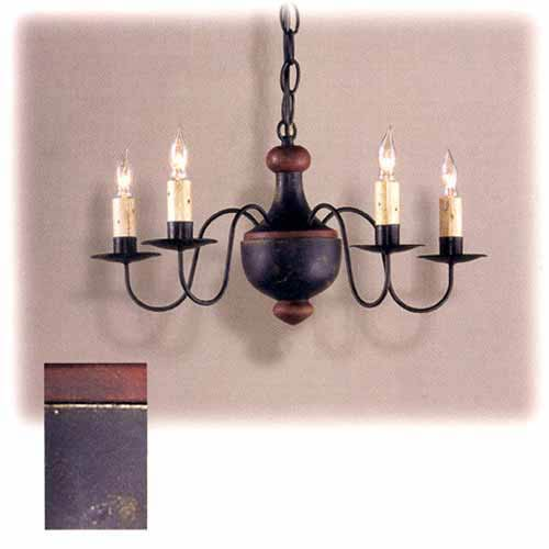Country Traditions Essex Wooden Chandelier