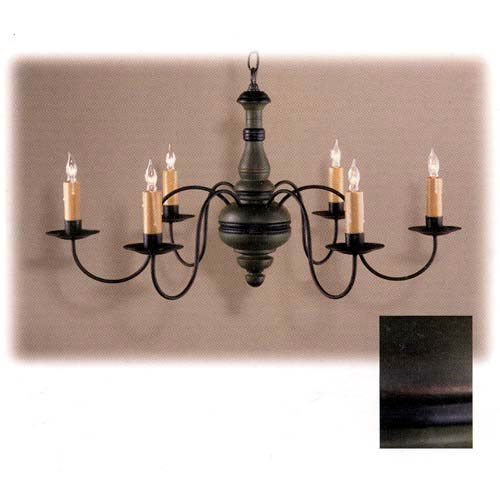 Country Traditions Abington Six Light Chandelier