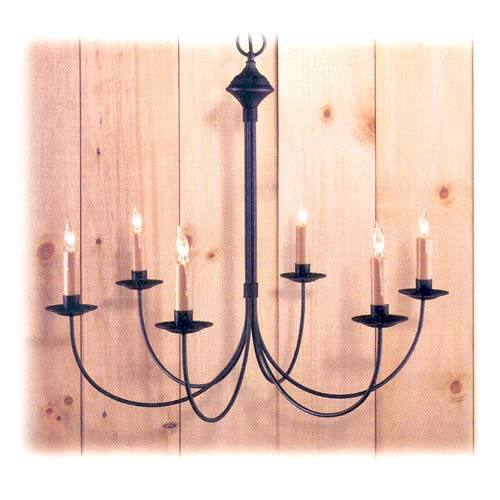 Country Traditions Pepperell Metal Chandelier
