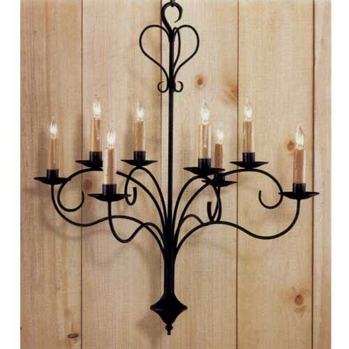 Country Traditions Breaux Bridge Chandelier