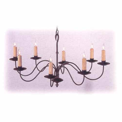 Country Traditions Ridgely Oval Chandelier