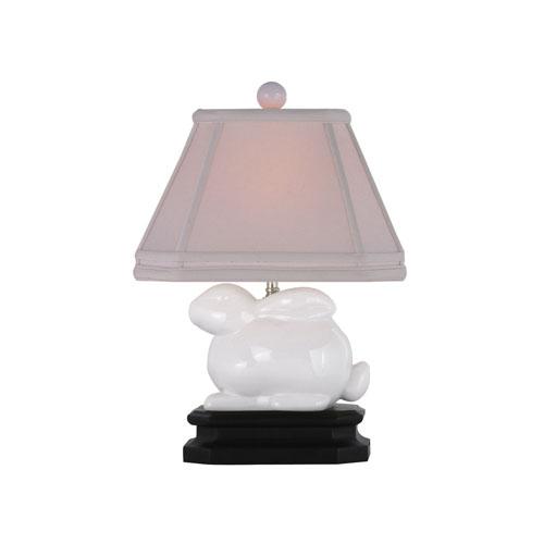 White Bunny Lamp