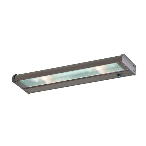 Charmant CSL Counter Attack Bronze 16 Inch Two Light Xenon Under Cabinet Light