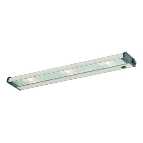 Counter Attack Stainless Steel 24-Inch 3 Light Xenon Speed Link Compatible Under Cabinet Light