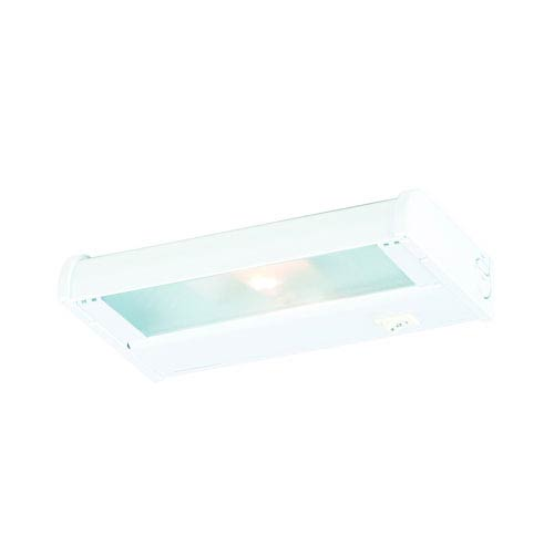 Counter Attack White 8-Inch One Light Xenon Speed Link Compatible Under Cabinet Light