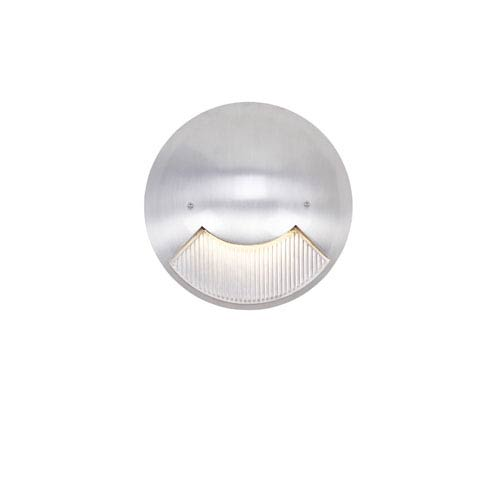 LED Steplights Matte White Two Light Wall Mount