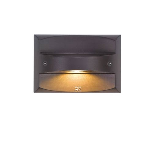 LED Steplights Bronze One Light Wall Mount