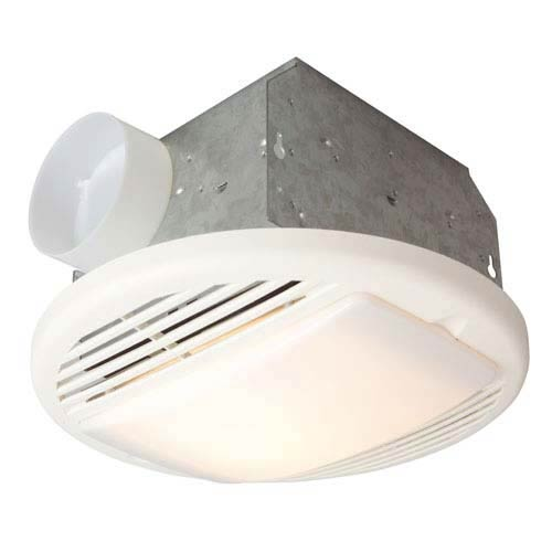 Teiber Lighting Products 50 Cfm White Ventilation Fan
