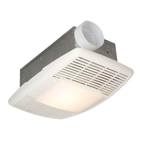 70 CFM White Heater/Ventilation Fan