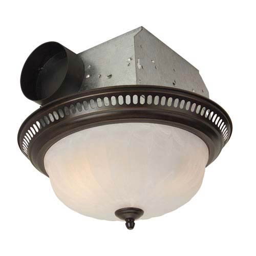 Teiber Lighting Products 70cfm Oil Rubbed Bronze Ventilation Fan