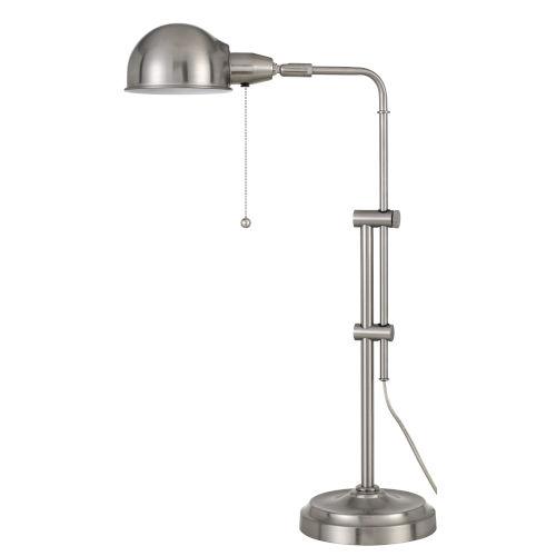 Pharmacy Brushed Silver One-Light Desk lamp