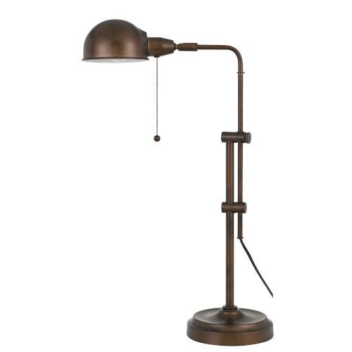 Pharmacy Rust One-Light Desk lamp