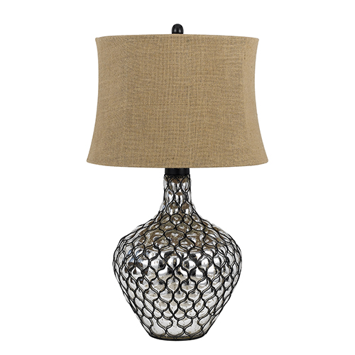 Puebla Clear One-Light Table Lamp