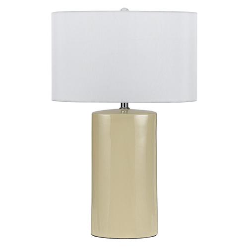 Minorca Beige One-Light Table Lamp - Set of 2