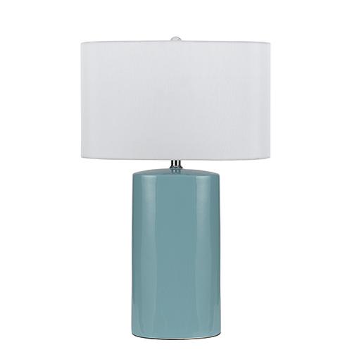 Minorca Aqua One-Light Table Lamp