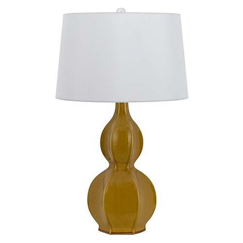 Cal Lighting Murcia Moca One-Light Table Lamp