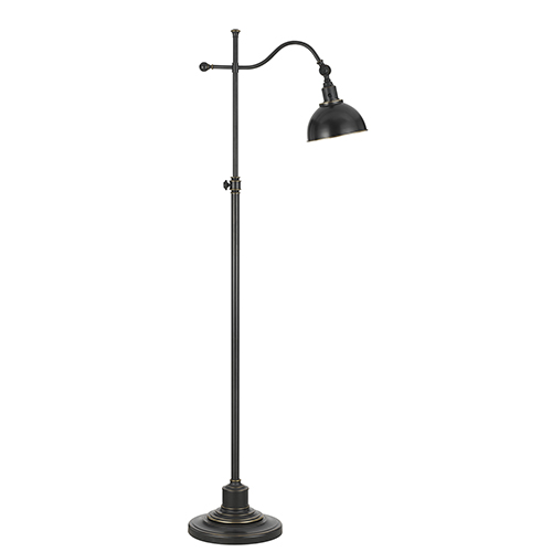 Cal Lighting Oil Rubbed Bronze One-Light Floor Lamp