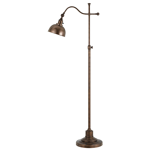 Cal Lighting Portico Rust One-Light Floor Lamp