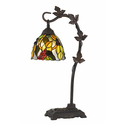 Cal Lighting Tiffany One-Light Table Lamp