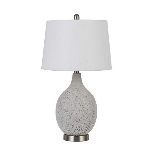 Edessa Fossil White One-Light Table lamp