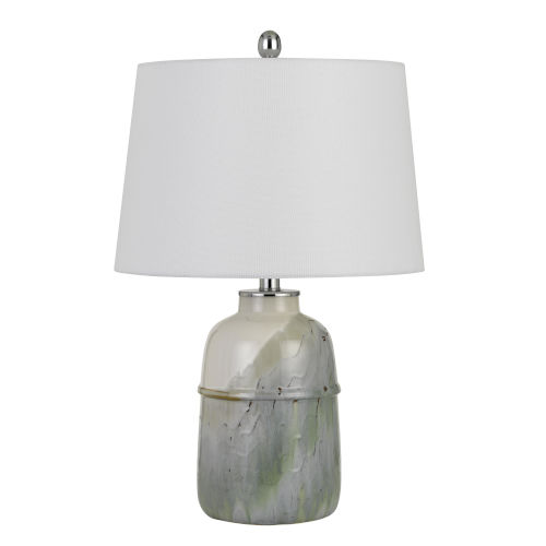 Vittoria Pale Mint Green One-Light Table lamp