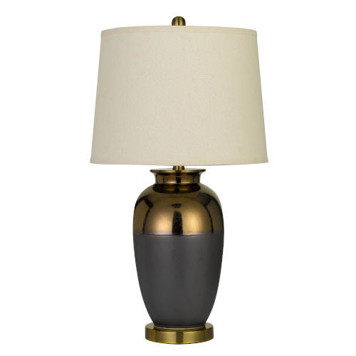 Cantazano Copper and Gray One-Light Table lamp
