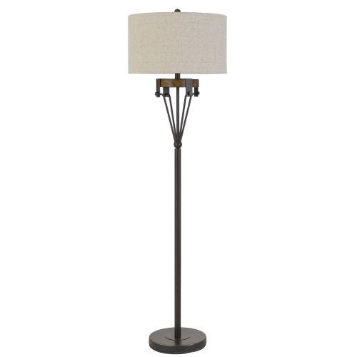Kircaldy Black Iron One-Light Floor lamp