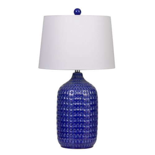 Adelaide Blue and White One-Light Table lamp