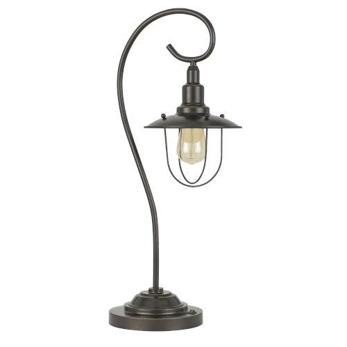 Vigo Dark Bronze One-Light Table lamp