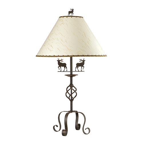 Deer Rust One-Light Table Lamp