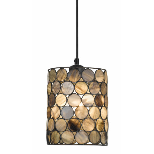 Black One-Light Mini Pendant