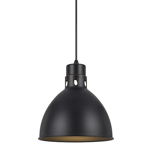 Dark Bronze One-Light Pendant